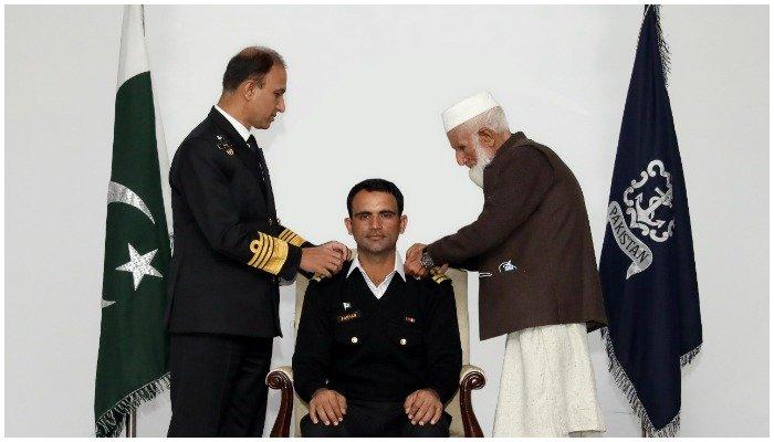 Pakistan Navy awards cricketer Fakhar Zaman honorary rank of lieutenant