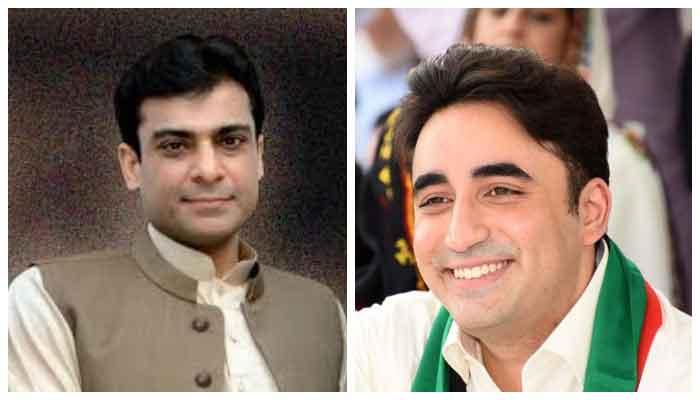 Bilawal and Hamza Shahbaz