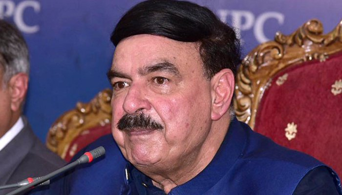 Sheikh Rasheed confirms the Quetta hotel blast was a suicide bomb attack
