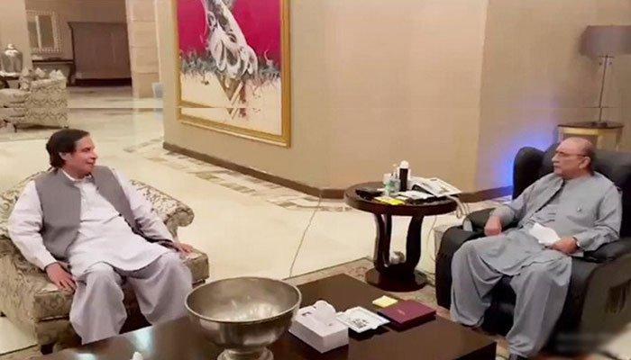 Speculation as Pervaiz Elahi meets Asif Ali Zardari
